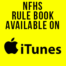 NFHS Rule Book Available on iTunes